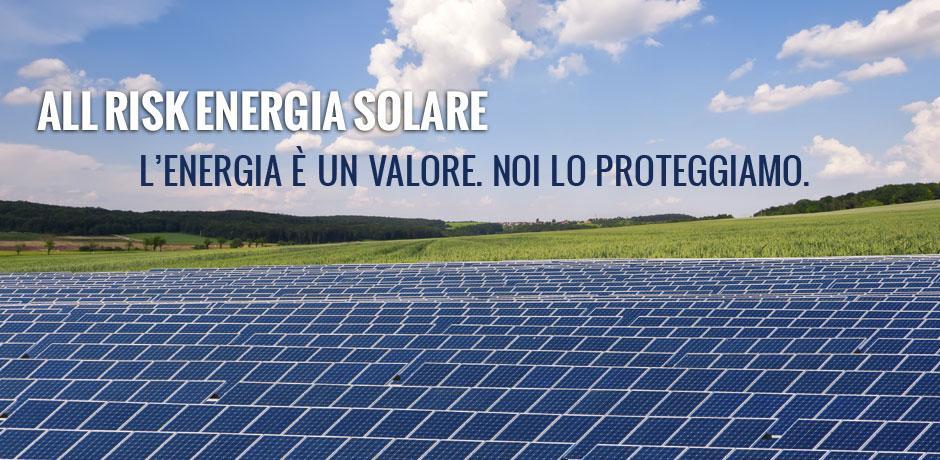 ALL RISK ENERGIA SOLARE